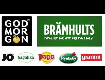 Lagafors pallar pressen från Skandinaviens ledande juicer och fruktdrycker